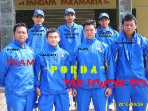 Tim Taekwondo Kuningan Porda XI Jabar 2010