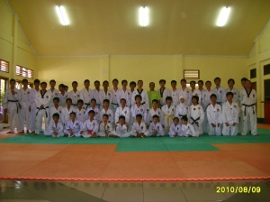 Peserta UKT Geup Taekwondo Kab. Kuningan