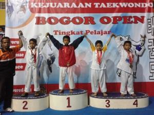 M. Ilham meraih perunggu kelas Supra Junior U-22